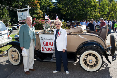 The Grand Marshall of the parade