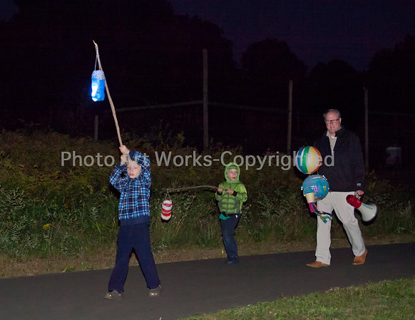 Lantern Parade Newtown, CT 2016