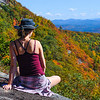 Fall in the Adirondacks at the top of Moxham Mountain.