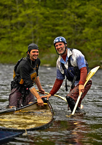 God's Race, canoeing fun on the Hudson River in the Adirondacks.