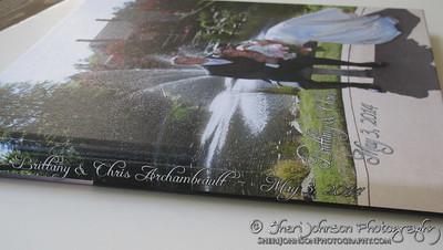 Wedding Album Design by Sheri Johnson