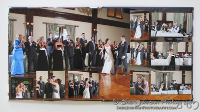 Wedding Album Design by Sheri Johnson