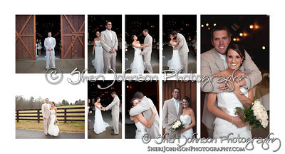 Page layouts of a new album for 2013 shot at The Reid Barn in Cumming, GA, a simple clean design for a new album I am offering, I absolutely love this new line.