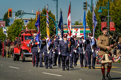 Sidney Fire Department Honor Guards.