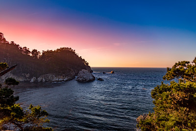 Sunset At Point Lobos