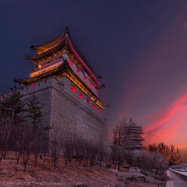 Datong City Wall Corner Tower