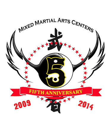 5th Anniversary with Logo