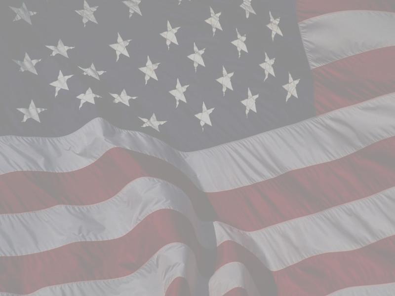 American Flag Washout