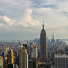 New York City Panoramic w/painterly effect