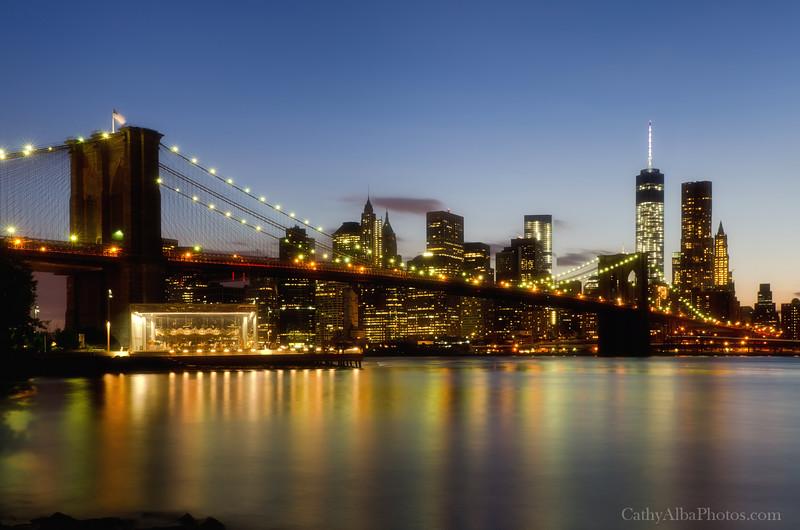 Brooklyn Bridge Blue Hour