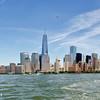 Manhattan views from the Hudson River