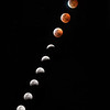 Moon Phases of the Lunar Eclipse 2019