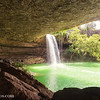 Panoramic of Hamilton Pool Preserve