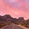 Pastel skies over Big Bend National Park