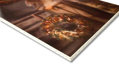 "<div class=""myTextTitle"">Canvas Stretch</div> <p>This type of mounting is a unique way to display your images like a fine art canvas. The print is stretched to the edge of a 1 3/4"" thick wooden frame, and stapled around the edges, leaving the full image on the front. Suitable for framing, but also able to hang as is.</p>"
