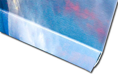 "<div class=""myTextTitle"">Canvas Gallery Wraps</div> <p>Canvas Gallery Wraps are a stylish low-cost alternative to traditional framing. Photos are printed on Kodak Endura silver based photo paper then finished with a dry lamination process that is UV and water resistant. The emulsion is then stripped off and bonded with high pressure and heat onto over-sized museum quality canvas. The resulting canvas print is then wrapped around a 1 3/8"" thick wooden stretcher frame so that 2-1/4"" of the photo's edges are visible on the sides of the frame. It arrives ready to hang right out of the box, hanging hardware included.</p>"