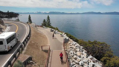 Biking From Incline to Sand Harbor
