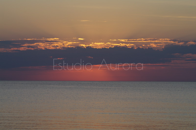 Sunrise at North Point Beach-Racine, WI