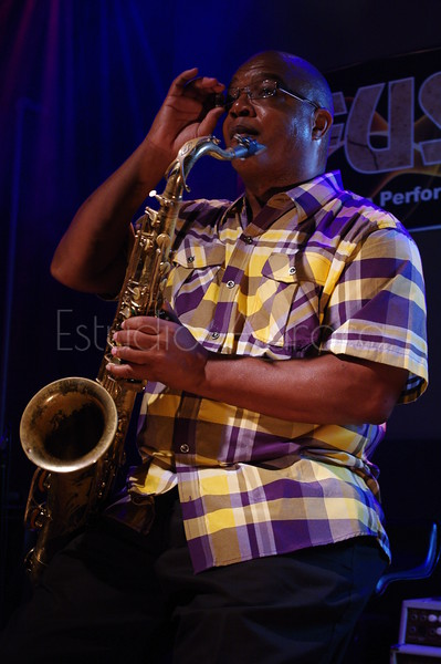 Rogers Randle Jr. is a saxophonist from Kenosha, WI. He plays amazingly. I had the privilege to work with Roger. We had our photo shoot at Fusion in Kenosha, WI. Thanks to Don Miller and Steve Hawkins for providing this performance place for our photo shoot.