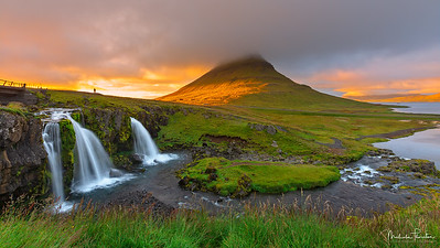 Kirkjufell Mountain and Waterfall