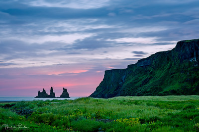 Reynisdrangar  (Viewed from Vik)