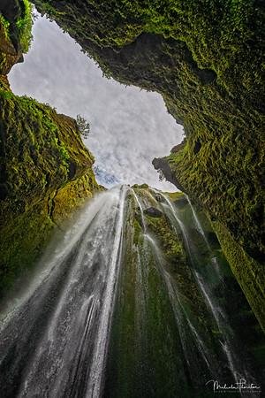Gljúfrafoss Waterfall