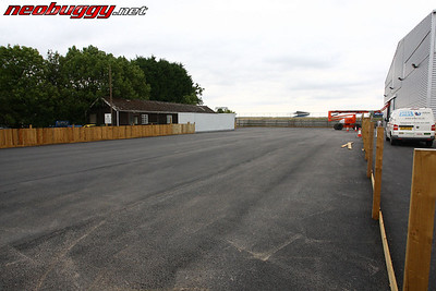 Outdoor tarmac track site