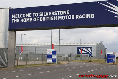 Silverstone Entrance with Moto Arena building