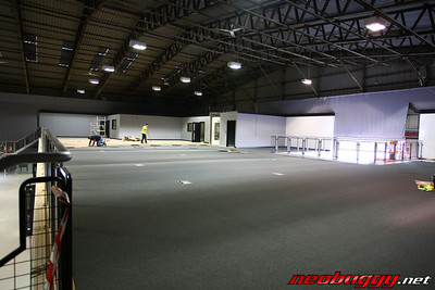 Simulators, slotcar track will go here