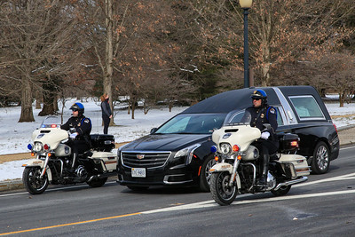 Procession for Capitol Police officer Brian Sicknick