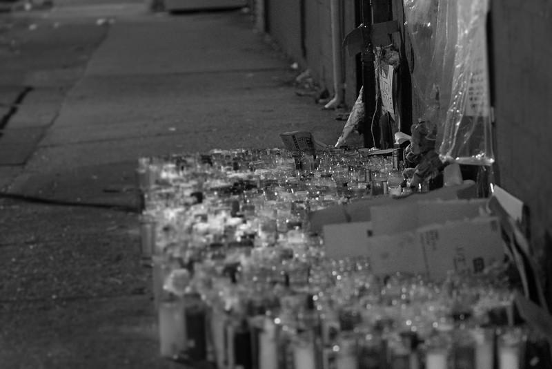 Vigil Site: Kimani Gray, April 2013