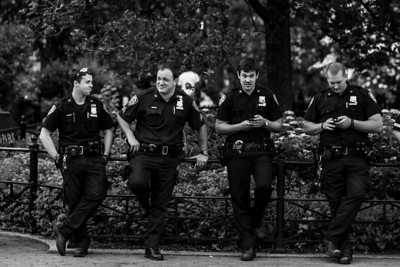 Springtime with the NYPD in Union Square