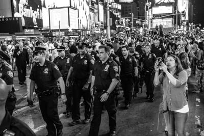 Police in Times Square #2