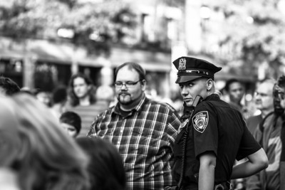 Rank and File Doing Crowd Control, May 2013