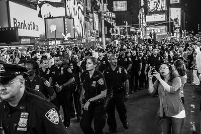 Police in Times Square #1