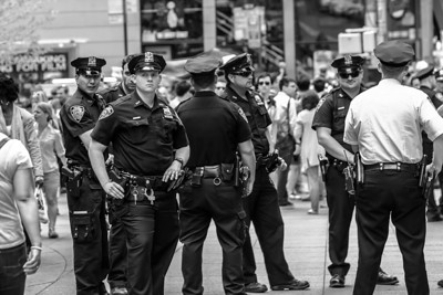 NYPD on a Summer Day 2013