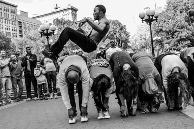 HIp Hop Acrobat, Union Square