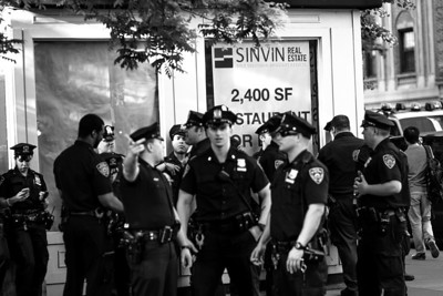 Cops guarding empty real estate: West Village