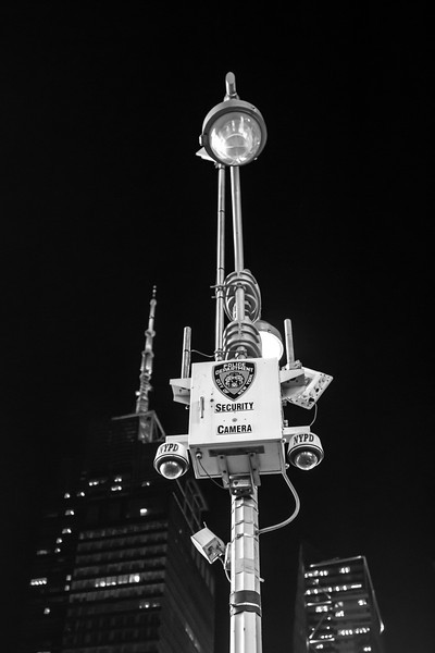 Security Camera, Times Square, New York