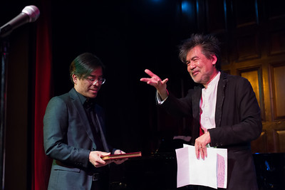 David Henry Hwang at Target Margin's Gala 2017