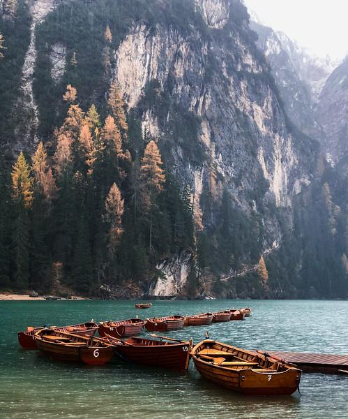 Lago di Braies, Italy.