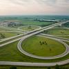 Highway I-57 ramps