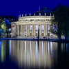 Opera House of Stuttgart, Late Evening View