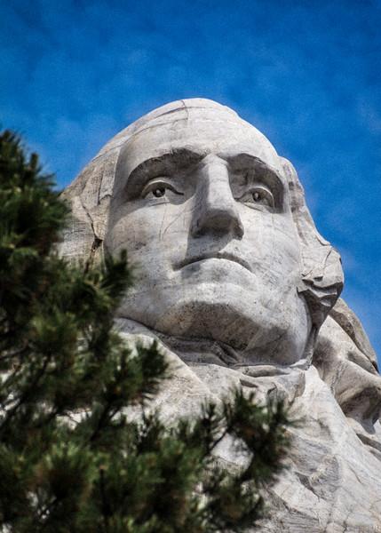 George at Mt. Rushmore