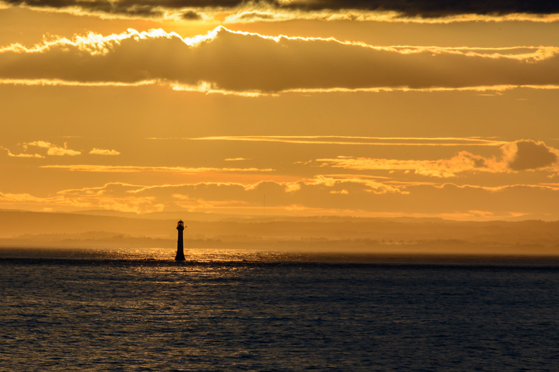 Sunset Over Scotland