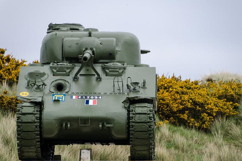 M4 Sherman Near Utah Beach, Normandy