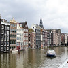 Houses Built On Amstel River