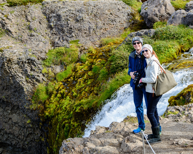 Brian and Shannon in Iceland