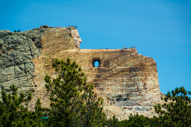 Crazy Horse in Profile