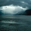 Break in the Clouds over Turnagain Arm